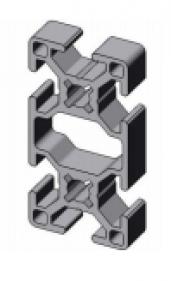 profil d 39 assemblage modulaire 30x60 aluminium 6060 aludis vente d 39 alliages d 39 aluminium. Black Bedroom Furniture Sets. Home Design Ideas