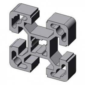 profil d 39 assemblage modulaire 40x40 aluminium 6060 aludis vente d 39 alliages d 39 aluminium. Black Bedroom Furniture Sets. Home Design Ideas