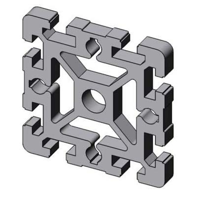 profil d 39 assemblage modulaire 90x90 aluminium 6060 aludis vente d 39 alliages d 39 aluminium. Black Bedroom Furniture Sets. Home Design Ideas